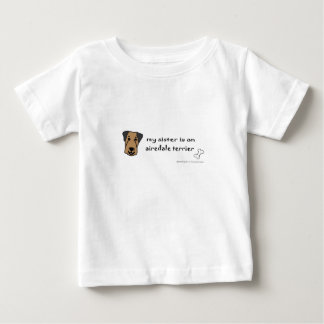 ag5 airedaleテリア ベビーTシャツ