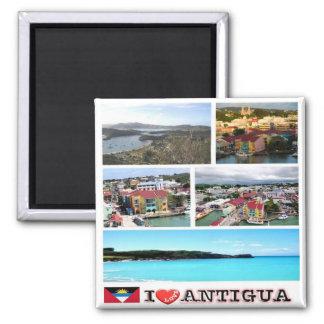 AG -アンチグアバーブーダ-アンチグア- I愛 マグネット