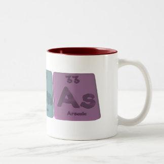 Agamas Agあように銀アメリシウムヒ素 ツートーンマグカップ