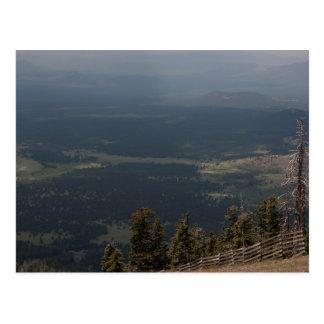 Agassizのピークからの眺め ポストカード