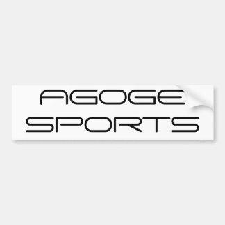 AGOGEのスポーツ バンパーステッカー