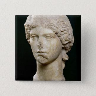 Agrippinaのバスト年長者c.37-41の広告 5.1cm 正方形バッジ