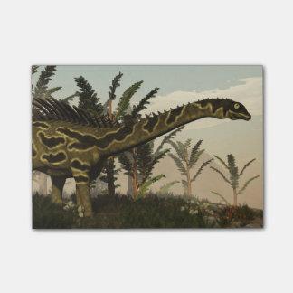 Agustiniaの恐竜- 3Dは描写します ポストイット