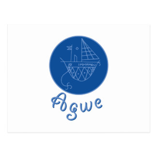 Agwe Veve ポストカード