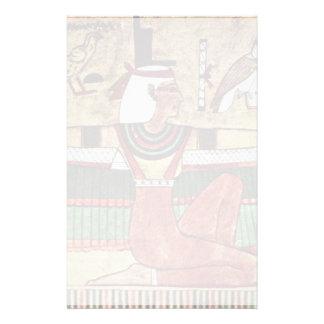Ägyptischer Maler Um 1360年のV.著女神Isis、 便箋