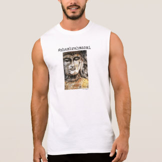 Aham Brahmasmi仏の芸術の人のタンク 袖なしシャツ