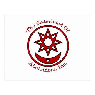 Ahel Adomの姉妹関係 ポストカード
