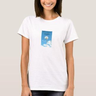 Ahhシンプルな生命 Tシャツ