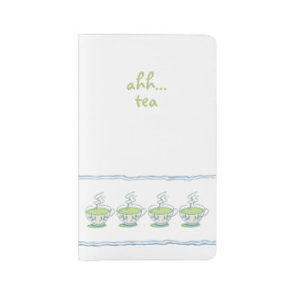 Ahh…緑茶 ラージMoleskineノートブック