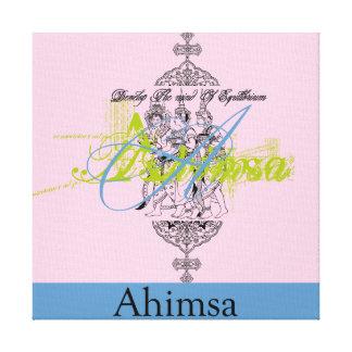 Ahimsaのキャンバスの芸術のプリント キャンバスプリント
