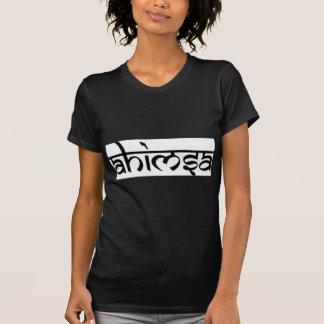 Ahimsa - अहिंसा -仏教の主義 tシャツ