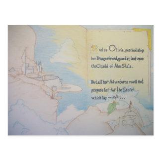 Ahm Shalaのオリビア ポストカード
