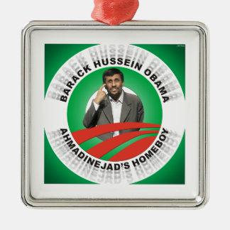 Ahmadinejadsの同郷人 メタルオーナメント