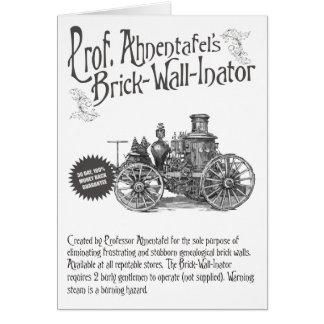 Ahnentafel's煉瓦壁Inator教授の カード