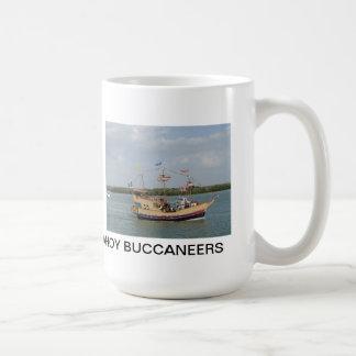 Ahoyバッカニアーズのマグ コーヒーマグカップ