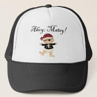 Ahoy Mateyベビーの海賊帽子 キャップ