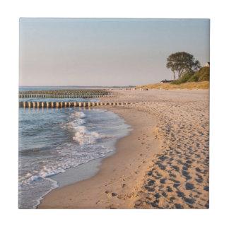 Ahrenshoopのビーチ タイル