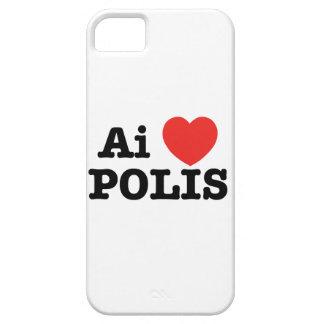 Ai愛Polis: 100台の電話箱(I愛Polis) iPhone SE/5/5s ケース
