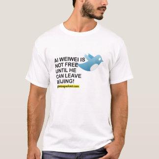 Ai Weiwei北京のワイシャツ Tシャツ