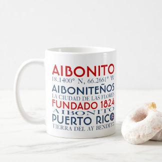 Aibonito、プエルトリコ コーヒーマグカップ