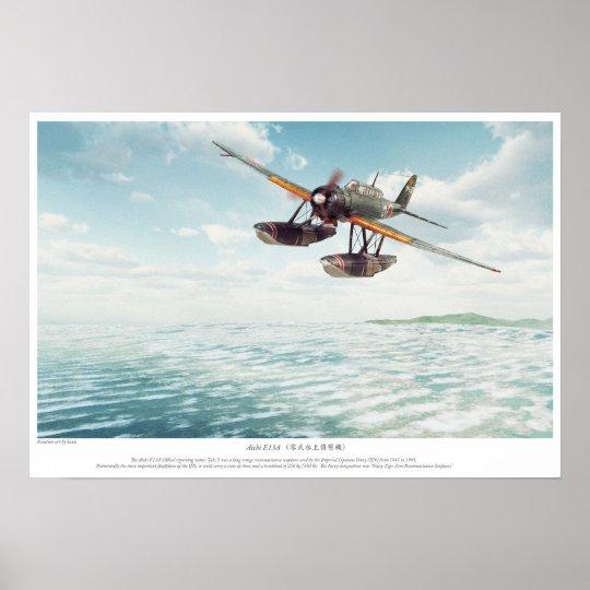 Aichi E13A ポスター