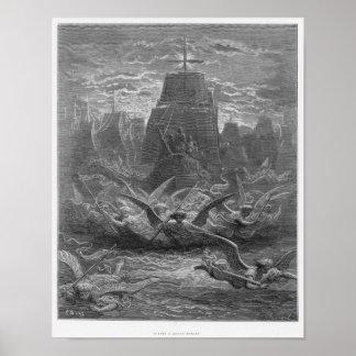 Aigues-Mortesを去るセントルイス ポスター