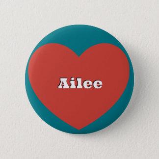 Aileeのための愛 5.7cm 丸型バッジ