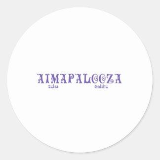 Aimapalooza ラウンドシール