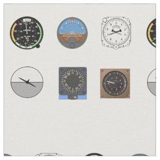 Aircraft Instrument Fabric ファブリック
