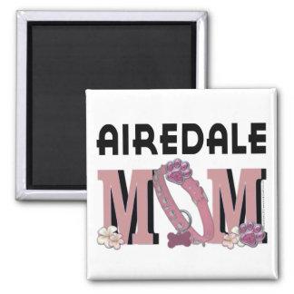 Airedaleのお母さん マグネット
