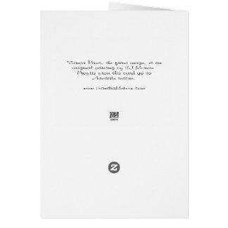 """Airedaleのクリスマスカード: """"サンタ足""""の カード"""