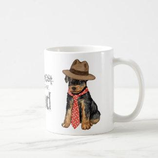 Airedaleのパパ コーヒーマグカップ