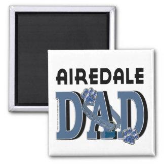 Airedaleのパパ マグネット