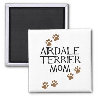 Airedaleテリアのお母さん マグネット