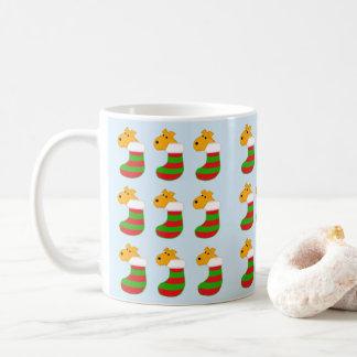 Airedaleテリアのキャンディ・ケーンのストッキングのクリスマスのマグ コーヒーマグカップ