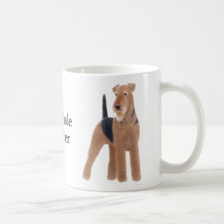 Airedaleテリアのマグ コーヒーマグカップ