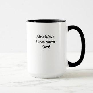 Airedaleテリアのマグ マグカップ