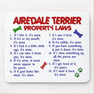 AIREDALEテリアの特性の法律2 マウスパッド