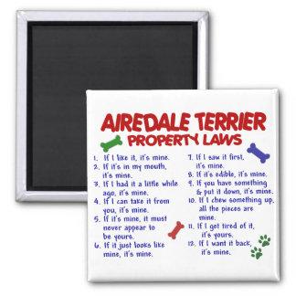 AIREDALEテリアの特性の法律2 マグネット