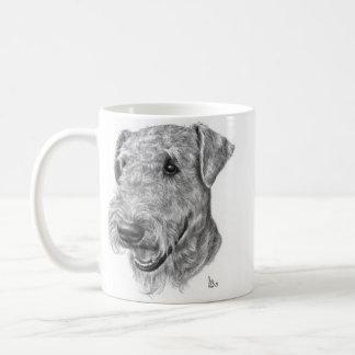 Airedaleテリア コーヒーマグカップ