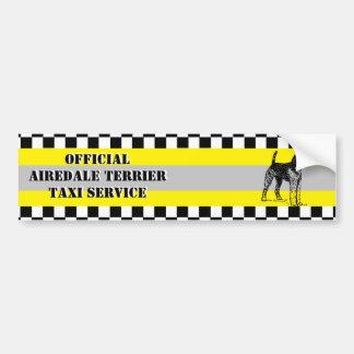 Airedaleテリア バンパーステッカー