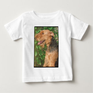 Airedaleテリア ベビーTシャツ