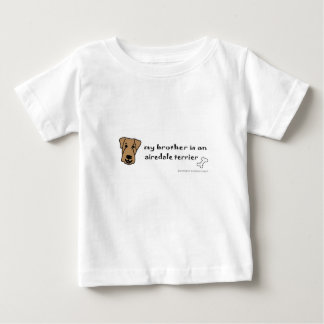 airedaleテリア-多くは繁殖します ベビーTシャツ