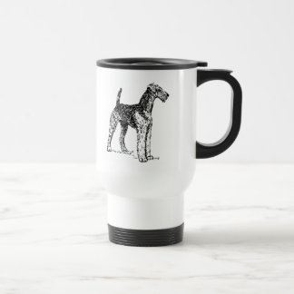 Airedale犬 トラベルマグ