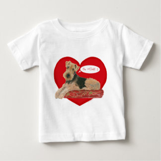 Airedale、レークランドのウェルシュテリア ベビーTシャツ