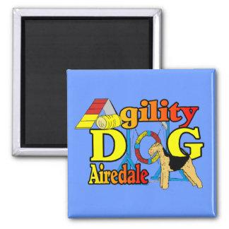 Airedale_Agilityのギフト マグネット