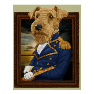 Airedale Terrier ポスター