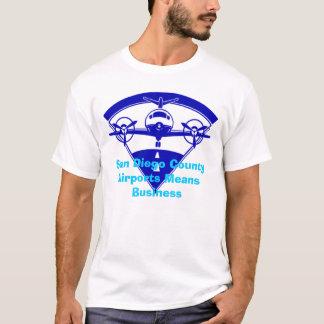 airlogob、San Diego郡空港平均ビジネス Tシャツ