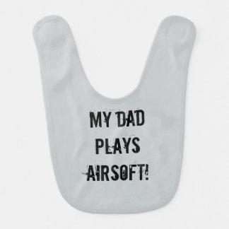 Airsoftのパパのよだれかけ ベビービブ