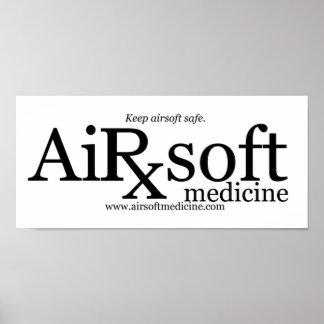 Airsoftの薬 ポスター
